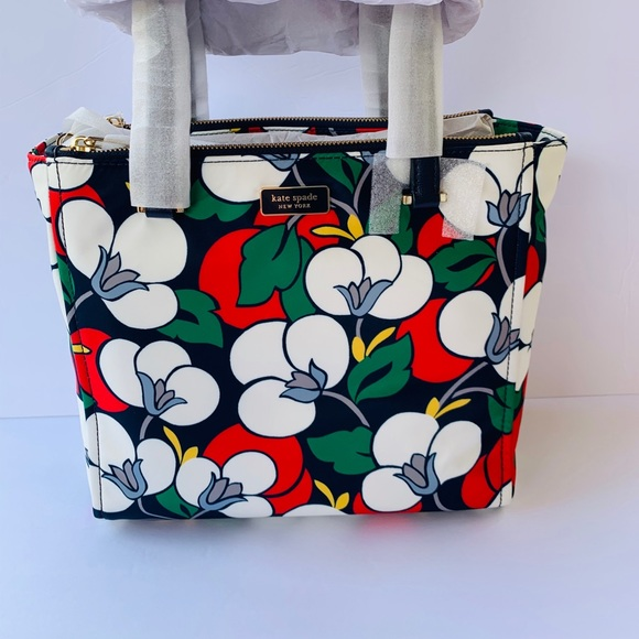 NWT/ KATE SPADE NEW YORK MEDIUM FLORAL SATCHEL